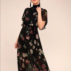 Lulus Black Maxi Dress